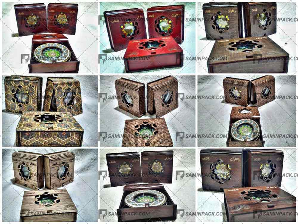 تولید جعبه چوبی زعفران